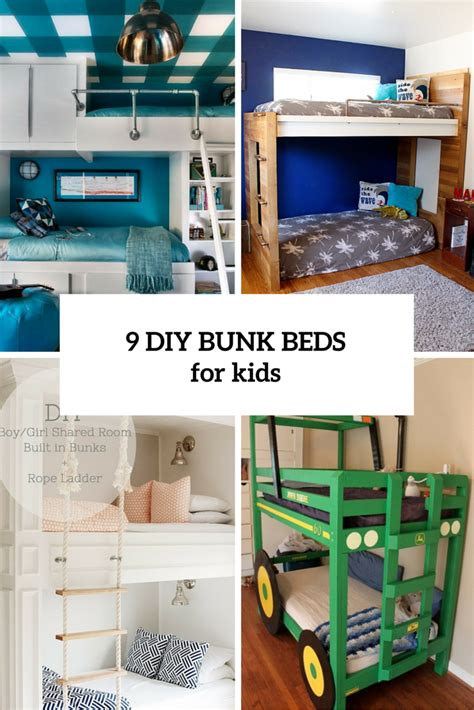 diy toddler bunk beds diy kids beds archives shelterness