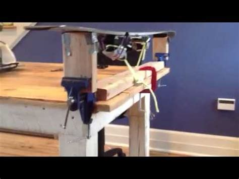 diy ski wax bench ski wax bench youtube