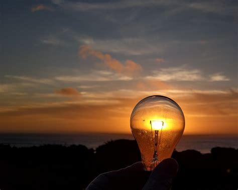 sunset   lightbulb yachats oregon david geitgey