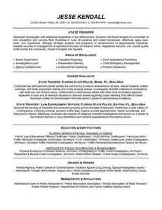 Enforcement Objective For Resume by Enforcement Resume Objectives