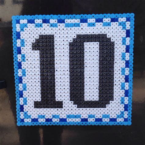 perler bead numbers 22 best images about alphabet letters on