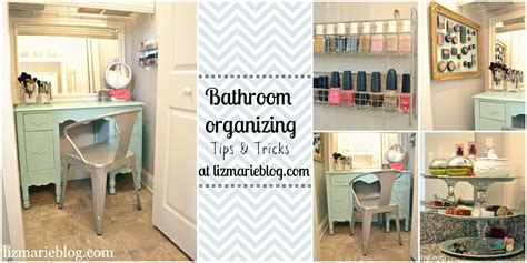 Organized Bathroom Ideas Master Bathroom Organizing Ideas Liz