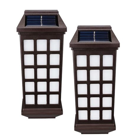 Solar Fence Lighting Best Solar Wall And Fence Lights Ledwatcher