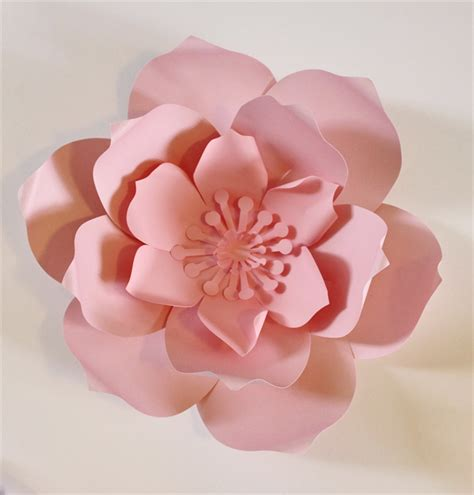 Big Paper Flowers - paper flower centerpiece paper flower wall large paper