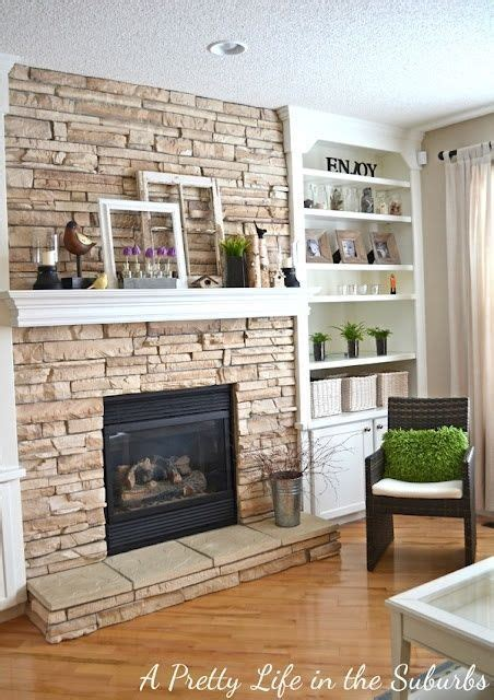 diy built in bookshelves fireplace fireplace makeover