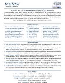 Cfo Resume Templates by Controller Resume Exle Breakupus Pleasing Resume