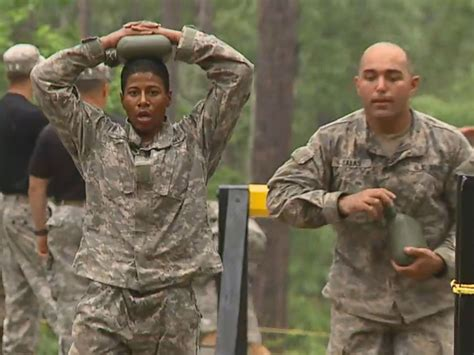 female us army rangers inside army ranger school with first female soldiers abc