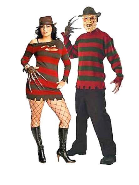7 Costume Ideas For Couples by Freddy Kruger Costume Costumes