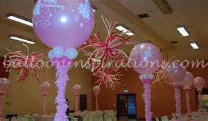 balloon decoration christening christening balloon decorations for new baby arrivals