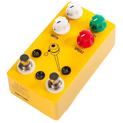 Jhs Honey Comb Dual Speed Tremolo jhs pedals honeycomb deluxe dual speed tremolo pedal at