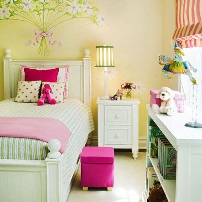 girls bedroom yellow girls room yellow pink green bedroom pinterest