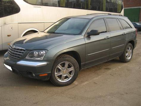2003 Chrysler Pacifica by Used 2003 Chrysler Pacifica Wallpapers 3 5l Gasoline