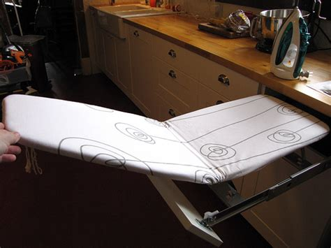 Fold Away Ironing Board Drawer by Built In Ironing Board In Kitchen Flickr Photo