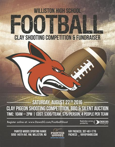coyote football parents set sights  fundraising goals