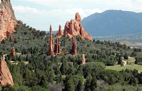 Colorado Springs Garden Of The Gods by Balances Rock In The Garden Of The Gods Colorado Springs
