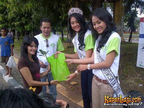 Bibit Rambutan Gundul puteri indonesia lingkungan bagikan bibit pohon gratis