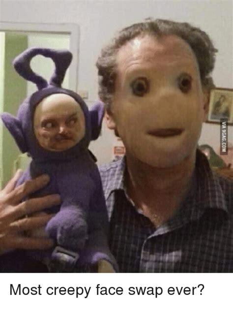 Meme Scary Face - most creepy face swap ever creepy meme on me me