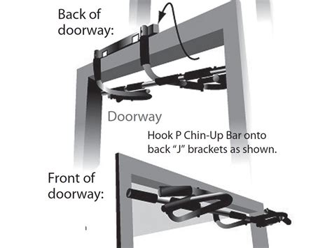 Home Door Pull Up Bar by New Deluxe Doorway Chin Up Bar Pull Up Bar Multifucntion