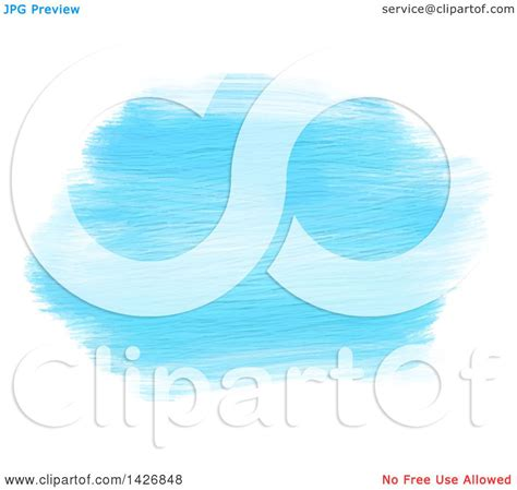 acrylic paint clipart clipart of streaks of blue acrylic paint on white