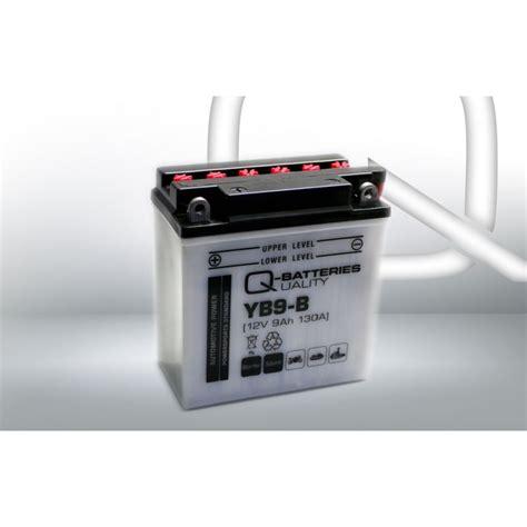 Batterie Motorrad by Q Batteries Motorrad Batterie Yb9 B 50914 12v 9ah 130a