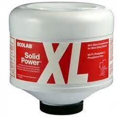 Lg Dishwashing Machine Ecolab Solid Power Xl Dish Detergent 6100185 9 Lb 4 Cs