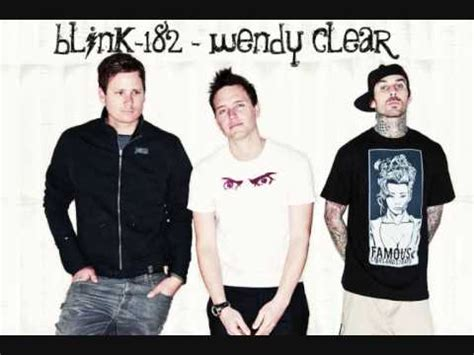 blink182 wendy clear blink 182 wendy clear