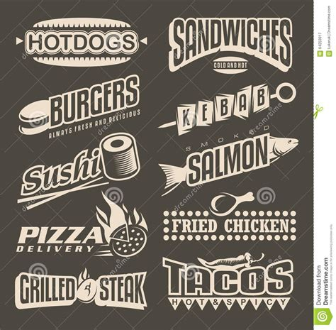 menu design label pizza restaurant take away menu royalty free stock image