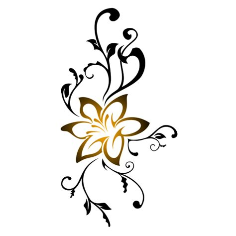 tattoo flor png tribal 0010 by kreativesvakuum on deviantart