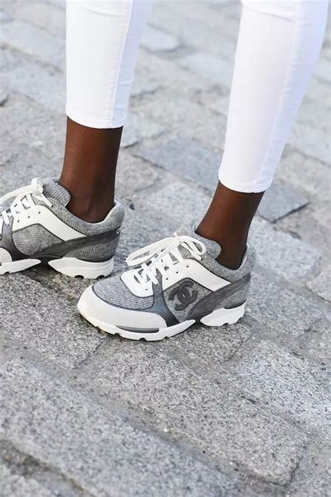 chanel sneakers chanel sneakers the stylish directive