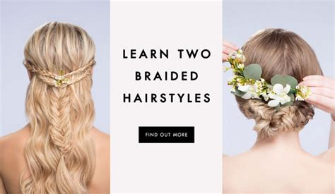 diy hairstyles to wear to a wedding diy wedding hairstyles learn how to style two looks