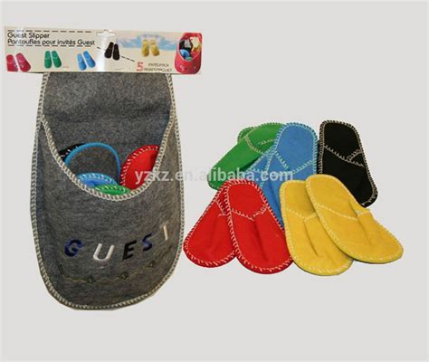 indoor slippers for guests new arrival lovely guest indoor felt slippers family set