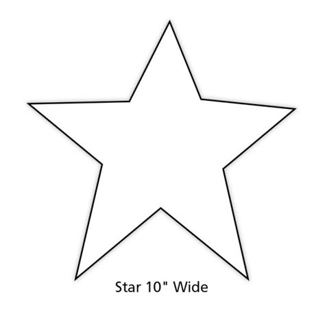 printable star shape cut outs paper star cut out for holiday and classroom decorations