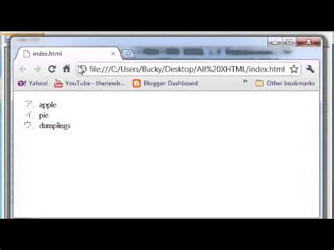 xhtml and css tutorial the new boston xhtml and css tutorial 27 styling unordered lists