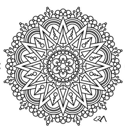 henna coloring pages items similar to mandala coloring page 46 on etsy