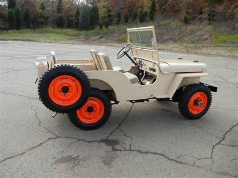 46 Willys Jeep 46 Willys Cj2a Garage