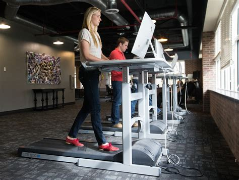 treadmill armoire new research shows impact treadmill desks have on job performance