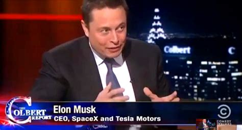 elon musk question interview stephen colbert interviews elon musk video inhabitat