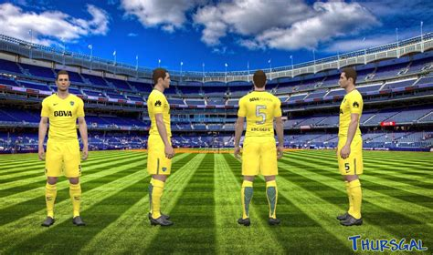 Boca Junior Away 201617 Berkualitas pes 2017 boca juniors away 2017 18 by thursgal edy patch pes fifa patch all update
