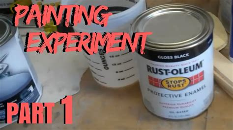 part 1 c10 painting experiment rustoleum paint
