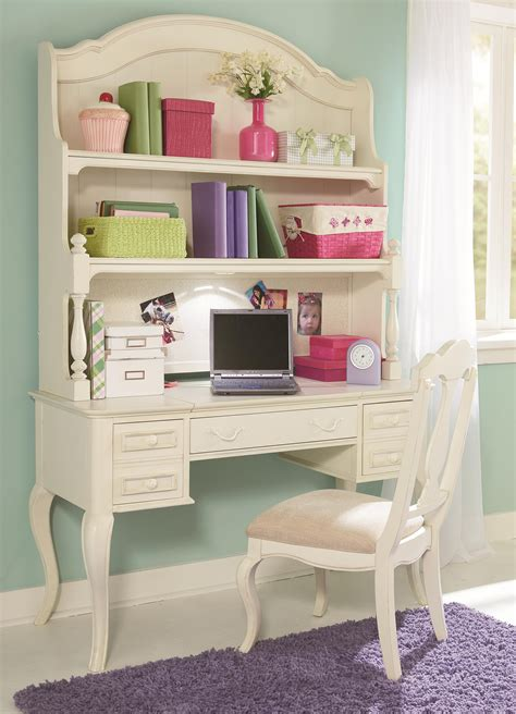 desk hutch lighting table desk and hutch with built in lighting and corkboard