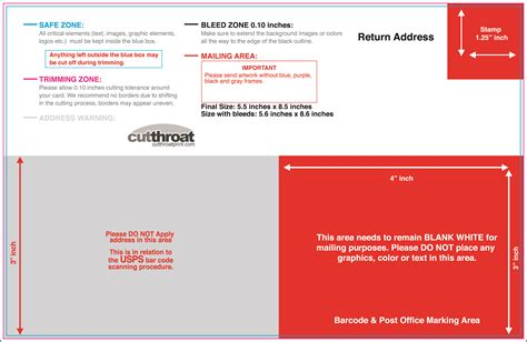5x7 postcard mailing template cutthroat printprint your postcards at cutthroat print