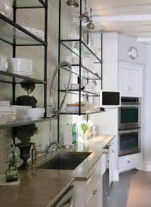 metal shelving for kitchens 25 best ideas about metal kitchen shelves on