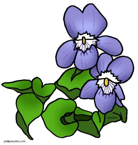violet clipart violet flower clip clipart panda free clipart images