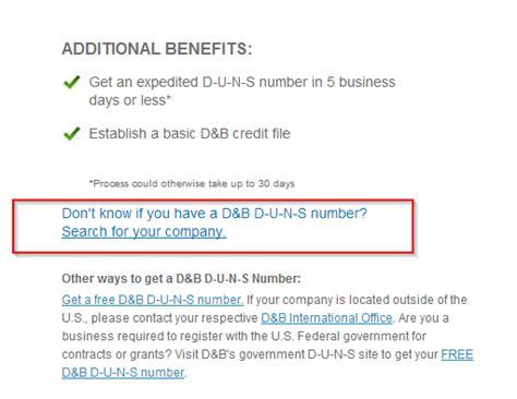Duns Number Lookup 怎样查一个公司的duns Number Csdn博客