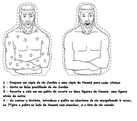 free bible coloring pages naaman 1000 images about a pequena serva capit 227 o naama on