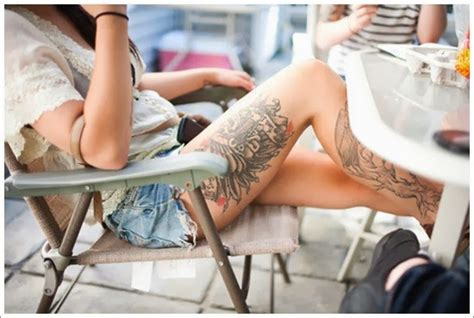 upper thigh tattoos female best design ideas thigh tattoos for