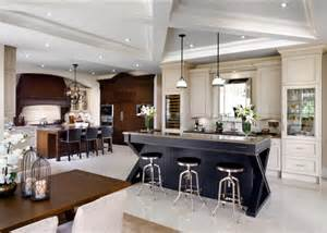 Kitchen With Bar Design Family Home With Sophisticated Interiors Home Bunch