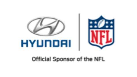 hyundai sponsorship nfl makes hyundai official automotive sponsor replaces gm
