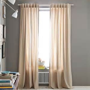 Window Drapery Panels Cotton Canvas Window Panel Modern Curtains By West Elm
