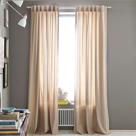 cotton panel curtains cotton canvas window panel modern curtains by west elm